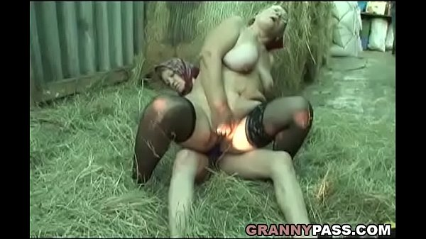Granny, Strapon, Old granny, Chubby mature, Strapon lesbian, Old mature
