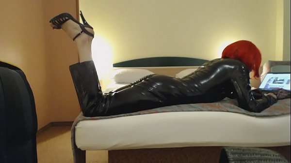 Latex, Crossdress, Crossdressers, Catsuit