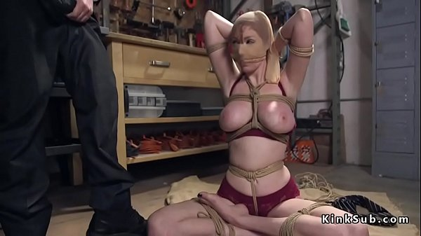 Tied, Huge toy, Tied tits