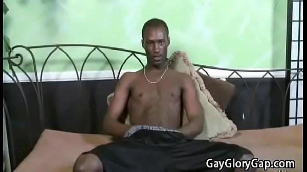 White and black, Gay handjob